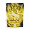 Afbeelding van TCG Sleeves Matte Dragon Shield - Yellow (Japanese Size) SLEEVES