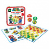 Afbeelding van Super Mario Checkers & Tic Tac Toe Collector's Game Set BORDSPELLEN