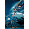 Afbeelding van Harry Potter: Harry and Ron in Ford Anglia Prime 3D puzzle 300pcs PUZZEL