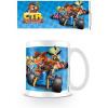 Afbeelding van Crash Bandicoot - Crash Team Racing Race Mug MERCHANDISE