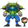 Afbeelding van Pop! Games: Overwatch - Nano Cola D.Va with Meka 15cm Exclusive FUNKO