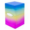 Afbeelding van TCG Deckbox Satin Tower Hi-Gloss Rainbow DECKBOX