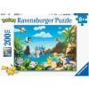 Afbeelding van Ravensburger Pokémon Puzzle 200pc XXL PUZZEL