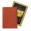 Afbeelding van TCG Sleeves Matte Dragon Shield - Copper (Japanese Size) SLEEVES