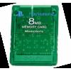 Afbeelding van Memory Card 8Mb Groen (Green) PS2