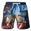 Afbeelding van Marvel - Captain America Swimshort Blue With Frontside Avengers (M) MERCHANDISE