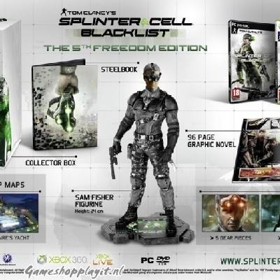Splinter Cell Blacklist The 5Th Freedom Edition PC