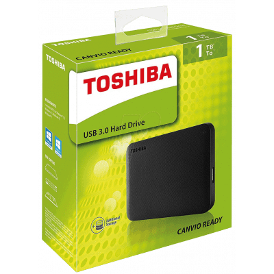 Foto van Toshiba Usb 3.0 Hard Drive 1TB