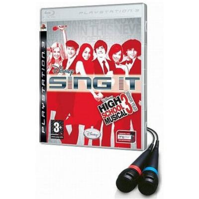 Foto van Sing It High School Musical 3 + Microphones PS3