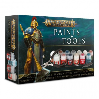 Age of Sigmar Paint + Tools Set Warhammer Age of Sigmar