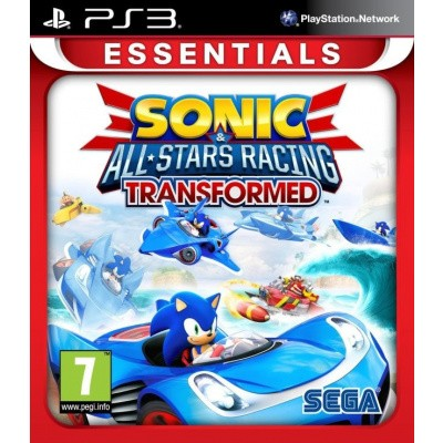 Sonic & All Stars Racing Transformed (Essentials) PS3