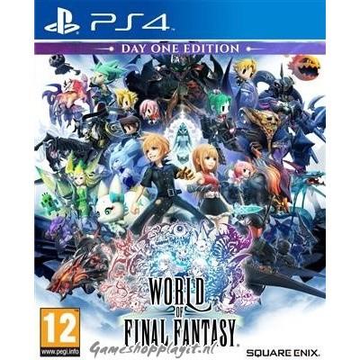 Foto van World Of Final Fantasy PS4