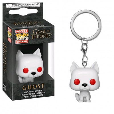Foto van Pocket Pop! Keychain: Game of Thrones - Ghost FUNKO