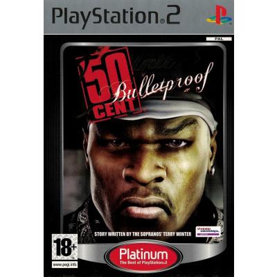 50 Cent Bulletproof (Platinum) PS2