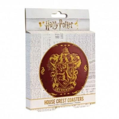 Foto van Harry Potter - Hogwarts Set 4 Metal Coasters MERCHANDISE