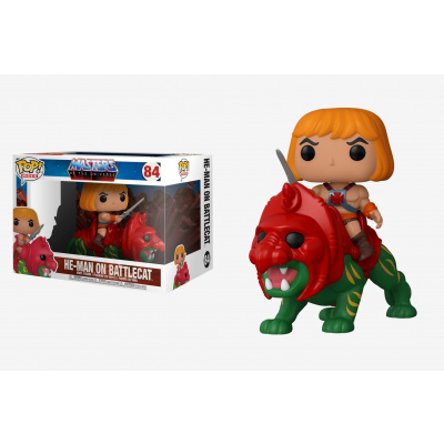 Foto van Pop! Rides: Masters of the Universe - He-Man on Battlecat FUNKO