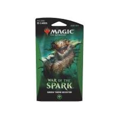 Foto van TCG Magic The Gathering Theme Booster - War Of The Spark Green MTG