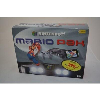 Foto van Nintendo 64 Console Grijs Incl. Super Mario 64 Game N64