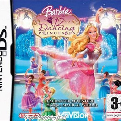 Barbie In The 12 Dancing Princesses NDS