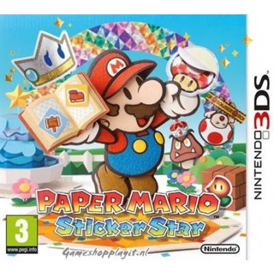 Paper Mario Sticker Star 3DS