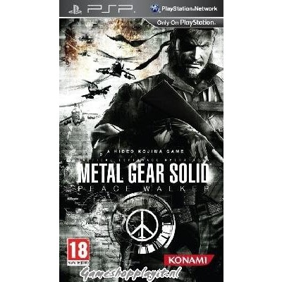 Foto van Metal Gear Solid Peace Walker PSP