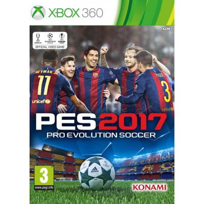Pro Evolution Soccer 2017 (Pes 2017) XBOX 360