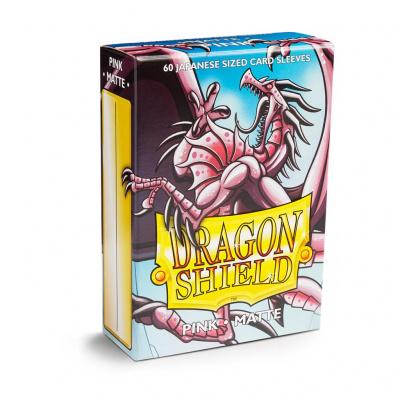 TCG Sleeves - Dragon Shield - Pink Matte Japanese Size