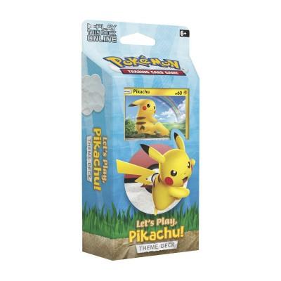 Foto van TCG Pokémon Theme Deck Let's Play, Pikachu! POKEMON
