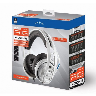 Plantronics RIG 400HS Official Headset (White) PS4
