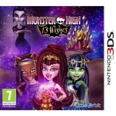Foto van Monster High 13 Wishes 3DS