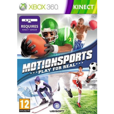 Motionsports Play For Real (Kinect Requires) XBOX 360