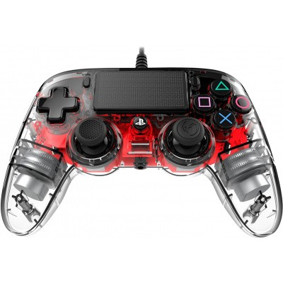 Nacon Compact Wired Controller (LED Red) PS4