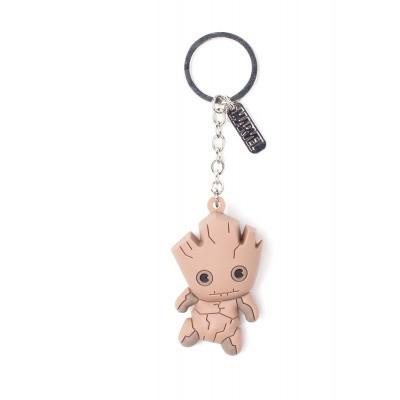 Foto van Marvel - Groot Character 3D Rubber Keychain