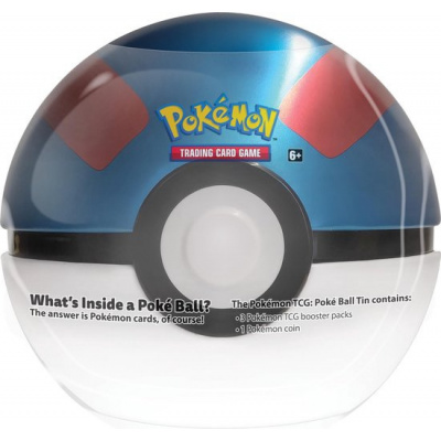 TCG Pokémon Pokéball March Tin - Great Ball POKEMON