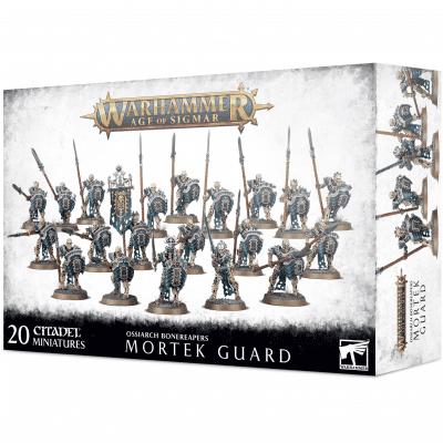 Foto van Ossiarch Bonereapers Mortek Guard Warhammer Age Of Sigmar