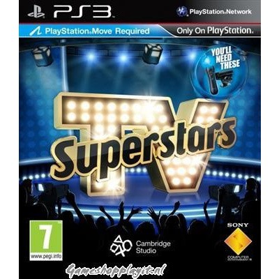 Tv Superstars (Playstation Move Required) PS3