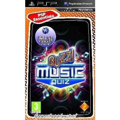Foto van Buzz! The Ultimate Music Quiz PSP