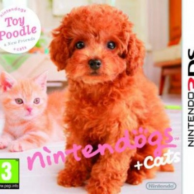 Foto van Nintendogs + Cats Toy Poodle 3DS