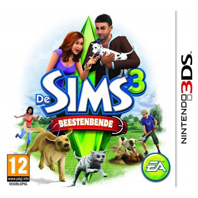 Foto van De Sims 3 Beestenbende 3DS