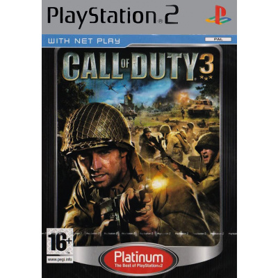 Call Of Duty 3 (Platinum) PS2