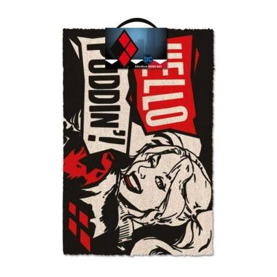 Foto van DC Comics: Harley Quinn Hello Puddin' Doormat MERCHANDISE