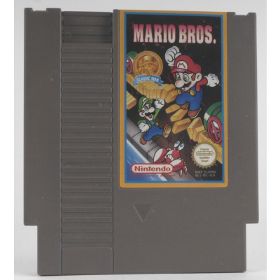 Foto van Mario Bros. (Classic Serie) (Losse Cassette) NES
