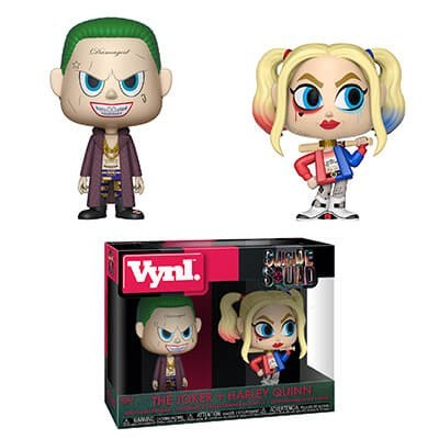 Foto van Vynl: Suicide Squad - The Joker & Harley Quinn 2-Pack FUNKO
