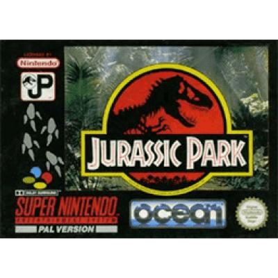 Foto van Jurassic Park SNES