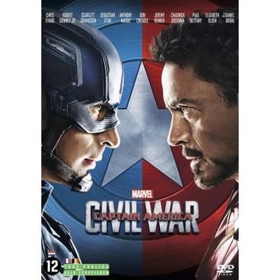 Foto van Marvel Captain America Civil War DVD MOVIE