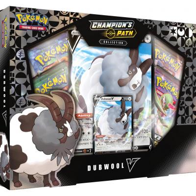 Foto van TCG Pokémon Champion's Path Collection - Dubwool V Box POKEMON