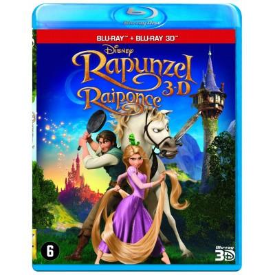 Foto van Rapunzel 3D (2D + 3D) BLU-RAY MOVIE