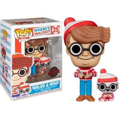 Pop! Books: Where's Waldo - Waldo & Woof Funko