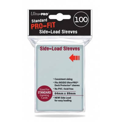 TCG Sleeves Pro-Fit Side-Load (100 Sleeves) (Standard Size) SLEEVES