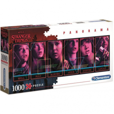 Stranger Things Panorama Puzzle 1000pc PUZZEL